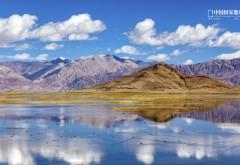 Цзянси, горы, реки, небо, китайская природа, обои hd, бесп…