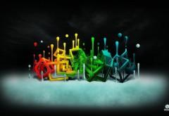 Абстрактные картинки, фоновые графити, обои hd, бесплат�…
