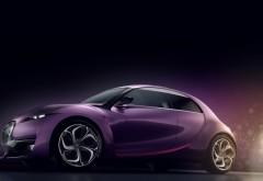 Маленький автомобиль фиолетовый обои hd бесплатно