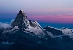 Альпы, холм, экзотический ночной закат, обои hd, бесплат�…