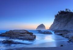 Морской берег, холм, побережье, вода, риф, обои hd, беспла…