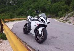 Мотоцикл, Yamaha YZF-R1,sportbike, roadside, обои hd, бесплатно
