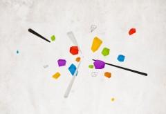 Оригами обои hd бесплатно скачать, фигуры из цветной бу�…