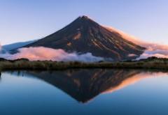 Горные озера, облака, природа, небо, природа, обои hd, бесплатно