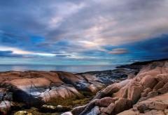 Широкоформатная обойка прекрасного моря