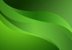 Зеленые линии абстрактные обои hd бесплатно