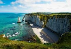 Море, небо, скалы, холм, деревья, видение, риф, отличный �…