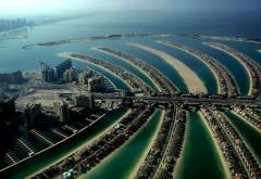 Фото интересного расположения города Дубаи