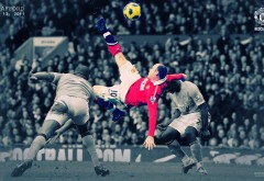 Уэйн Руни удар через себя матч Манчестер сити и Манчес�…
