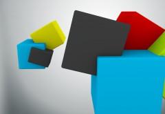 Абстрактные геометрические фигуры HD фоны на рабочий с�…
