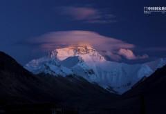 Холм, Эверест, шляпа, Гора, небо, обои hd, бесплатно