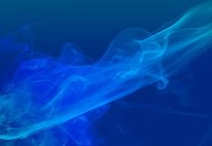 HD широкоформатный фон голубого дыма обои на рабочий стол