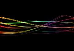 Абстрактные, линии, черный фон, обои hd, бесплатно