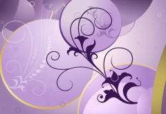 Фиолетовый, свадебная, фотография, фоны, заставки, праз…