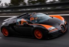 Bugatti, большой спорт, родстер, скорость, Veyron, автомобиль, …