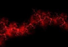 Черный фон, красный, цвет, краска, взрыв, взрывы, картин�…
