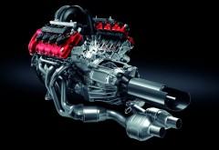 Широкоформатные обои с 3D изображением двигателя мазер…
