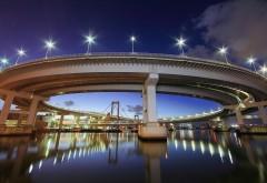 Радужный мост, Япония, Токио, мегаполис, картинки, обои …