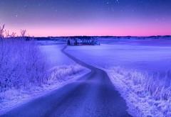 Картинки зимней дороги