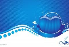 Голубые фоны, свадебные фото, сердечко, праздник, роман…