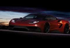 McLaren F1, supercar, автомобиль, суперкар, красный, картинки