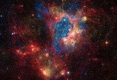 Галактика, Вселенная, Звезды, космос, туманность, заставки, обои