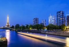 Эйфелевая башня, Сена река, HD декорации, картинки