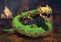 Игрушка, дракон, праздник, фоны, заставки