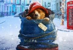 Приключения Паддингтона мультфильм, собачка в мешке фоны