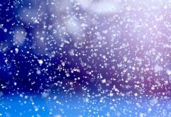 Фоны, стекла, точка, снегопад, воображение, снег