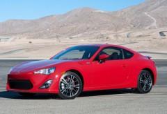 2015 Scion FR-S Static спортивный автомобиль красного цвета обо�…