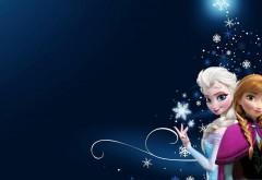 Сказочна принцесса Анна и Королева Эльза из мультфиль�…