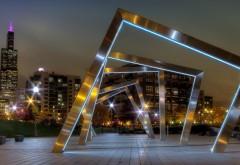 Заставка архитектура в стиле Хай-тек