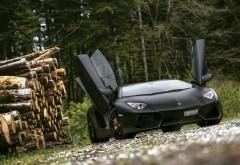 Стильное фото спортивного автомобиля Lamborgini