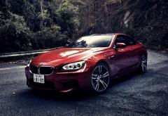 Прекрасная картинка шикарного, красного автомобиля