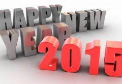 3D Праздник широкоформатные обои Нового года 2015 hd