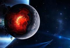 Пространство, катаклизм, планета, искусство, взрыв, аст…