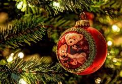 Рождественский шар, украшение, елка, праздник, медведь,…
