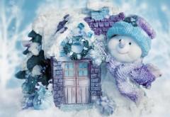 Широкоформатные обои, Праздники, Рождественские снего…
