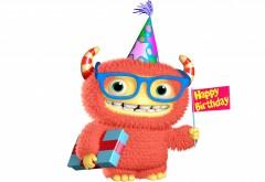 Монстры, Inc. Праздники, День рождения, 3D-графика, Мультф�…