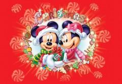 Микки Маус и его подруга Минни Маус Счастливого рождес…