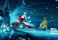 Новый год, рождество, дед мороз, метель, ночь, подарки, м…