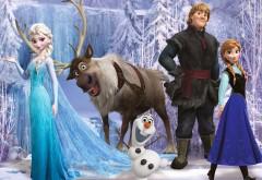 Положительные герои мультфильма Холодное сердце на сн…