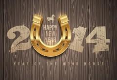2014 год лошади с подковой