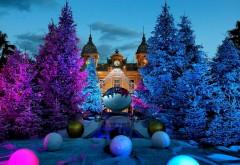 Рождественская елка, казино, Монте-Карло, Монако, обои, …