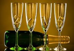 HD Новый год шампанское 2015 Обои для рабочего стола