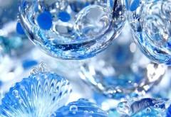 Падающие капли, вода, капельки, фоны, картинки
