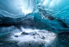 Скачать, лед, река, вода, скалы, камни, для Iphone, обои, картинки