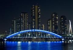 Мост Eitai, Япония, Токио, обои для рабочего стола