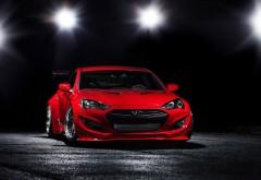 HD BTR Hyundai Genesis Coupe 2014 обои скачать